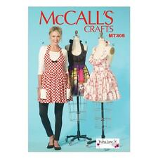 McCALL'S SEWING PATTERN CRAFTS MISSES' APRONS M7305