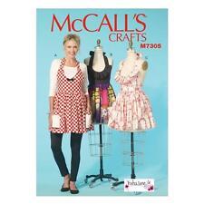 McCall's COUTURE MOTIF loisirs créatifs femmes' tabliers M7305