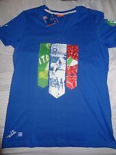 PUMA Italy Italia women graphic tee T shirt size L