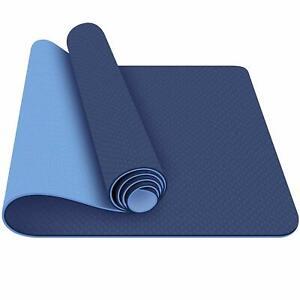 Ecologico Tappetino Yoga Non Scivoloso Pratica Eserzio 6mm Confezione Di 1