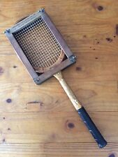 VINTAGE OLIVER ARISTOC TENNIS RACQUET IN ALEXANDER PATENT RACKET CO PRESS