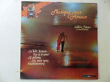 GILBERT FRANCE Musique pour l amour FLM12