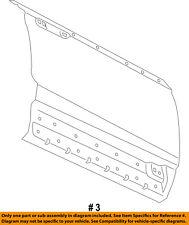 FORD OEM 15-16 Edge-Door Skin Outer Panel Left FT4Z5820201A