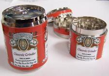 RED BEER POP / BEER CAN TOBACCO METAL GRINDER hand muller herbal smoke crusher