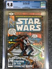 STAR WARS #28 MT 9.8 CGC WHITE PAGES JABBA THE HUT APP. INFANTINO COVER ART GOOD