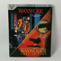 Waxwork / Waxwork 2 - Blu-ray - Vestron Video Collector's Series -Inc. Slipcover