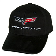 Chevrolet Corvette C6  Black Hat Cap - SHIPPED IN A BOX FREE - 2005 - 2013