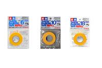 Tamiya #87033+87034+87035 6mm/10mm/18mm Masking Tape Refill Set Paint Tool Spray