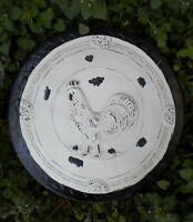 """Rooster chicken stepping stone mold mould Plaster Concrete mold 13"""" x up to 2"""""""