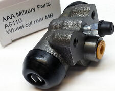 """NOS AAA Military Parts A6100 rear Jeep wheel cylinder complete MB GPW CJ2a 3/4"""""""