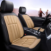 Universal Deluxe 5-Seats Car Seat Covers PU Leather Cushion Front Rear Truck Set
