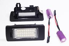 2x LED LICENSE PLATE LIGHT VOLKSWAGEN GOLF VI VARIANT CANBUS  MATRICULA VW 6
