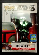 Funko POP!: Star Wars - Boba Fett (Green) (Chrome) SDCC Exclusive