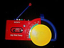 My First Sony Radio kids Cassette Recorder am fm tape  CFM-2300 sounds great