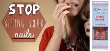 STOP NAIL CUTICLE BITING Bitter nail Polish system NON TOXIC for kids and adults