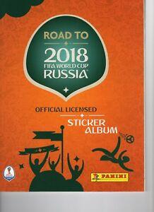 10 Panini Sticker Road to Fifa World Cup Russia 2018 aus 429 aussuchen (5)