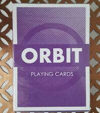 Orbit V3 Purple Playing Cards New & Sealed Rare Limited Edition Cardistry Deck