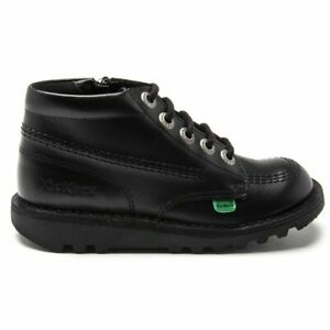 Kickers Infants Kick Hi Zip Boots Black