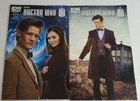 IDW 2013 BBC DOCTOR WHO#11#13 Vol 3 PHOTOCOVER Lee Collins Kirchoff Diggle Kuhn