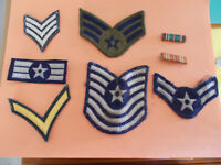Vintage Military Patches Pin Lot/8  Army National DefenseFor Pet Rescue