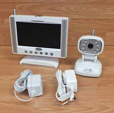 "Summer Infant Day & Night 7"" LCD Flat Screen Color Video 900MHz Monitor **READ**"