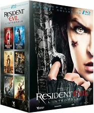 Coffret Resident Evil intégrale 1 à 6 Edition limitée collector Blu-ray neuf