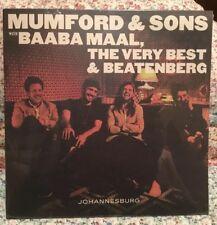 """Mumford & Sons with Baaba Maal , Johannesburg - 10"""" VINYL"""