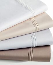 $130 NWT HOTEL COLLECTION FULL FLAT SHEET 100% EGYPTIAN COTTON 600TC TRUFFLE
