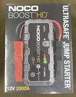 NOCO Genius Boost HD (GB70) - 2000-Amp 12-Volt UltraSafe Lithium Jump Starter
