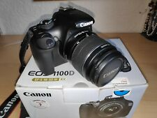 Canon EOS 1100D Digital Camera EF-S 18-55 III Kit (Mint Condition)
