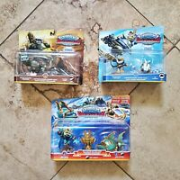 NEW 3 PACK! Skylanders SuperChargers Gill Grunt / Hurricane Jet-Vac / Terrafin