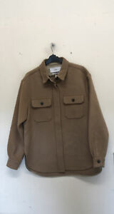 Free people closed kelly shirt jacket brown Size S {Z150}