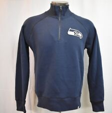 '47 Brand NFL Mens Seattle Seahawks 1/4 Zip Pullover Jacket NWT $70 S