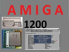 COMMODORE AMIGA 1200 4 GB COMPACT FLASH KIT ADAPTER CF + WORKBENCH + WHDLOAD