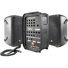 JBL Professional EON208P Portable All-in-One 2-way PA System with 8-Channel Mixe