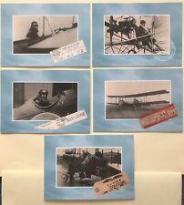 5 Postcards National Postal Museum. Ariel Post 1911-17. NPM 97/9/10/11/12/13.