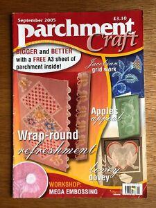 Parchment Craft Magazine September 2005