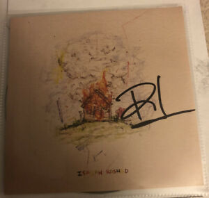 ISAIAH RASHAD AUTOGRAPHED  The House Is Burning SIGNED EXPLICIT CD