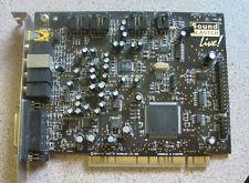 Vintage CT4760 Sound Blaster Live PCI Sound Board