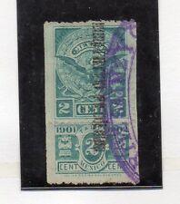 Mexico Valor fiscal del año 1901-2 (CF-881)