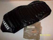 YAMAHA NOS 1981 SR185 BLACK DOUBLE SEAT COVER 5H0-24731-00-00 SR 185