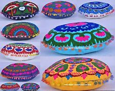 10 Pc Wholesale Lot SUZANI EMBROIDERED PILLOW CUSHION COVER Colorful Decorative