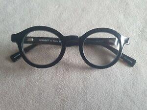 eyebobs TV Party black / patterned reading glasses frames. +1.50.