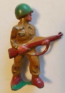MANOIL Original Lead Toy Soldier 500 Series #M190 COMBAT Barclay