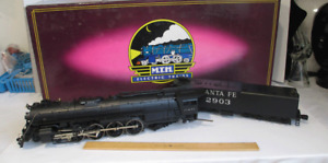 MTH M.T.H. Die-Cast Santa Fe 4-8-4 Northern Steam Engine And Tender MT-3013L