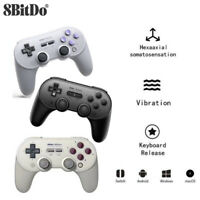 8BitDo SN30 PRO+ Bluetooth controller for Windows Android macOS Switch