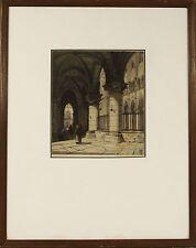 Charles Henri Toussaint (Paris 1849 — 1911) Original Etching Print