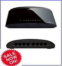 8 Port Desktop Switch Ethernet Network LAN Splitter Home Box Internet D-Link
