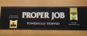 ST AUSTELL BREWERY PROPER JOB SIBA CHAMPS 2014 BAR RUNNER PUB SHEAD RARE