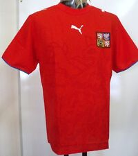 CZECH REPUBLIC 2006/08 S/S HOME SHIRT BY PUMA SIZE ADULTS XL BRAND NEW WITH TAGS